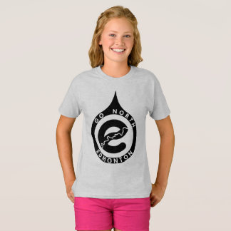 北のエドモントンは行きます Tシャツ