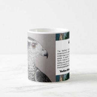 北のオオタカ コーヒーマグカップ