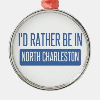 北のチャールストン メタルオーナメント