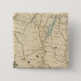 北のニューヨークシティ2 5.1CM 正方形バッジ