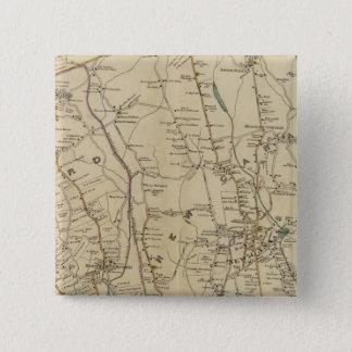 北のニューヨークシティ3 5.1CM 正方形バッジ