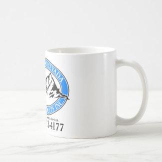 北のネバダの塀プロダクト コーヒーマグカップ