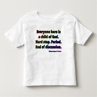 北のブロードウェイUMCの(2016年の)幼児の罰金ジャージーT トドラーTシャツ