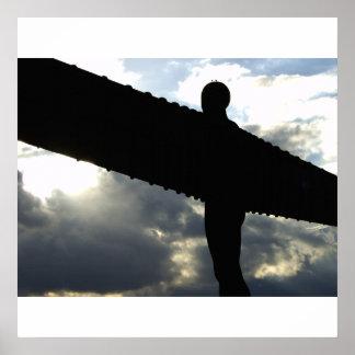 北のプリントの天使 ポスター