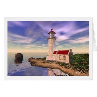 北のヘッド灯台-栄光の朝 カード