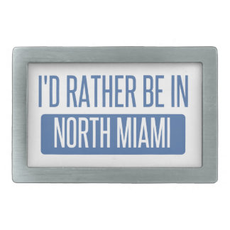 北のマイアミ 長方形ベルトバックル