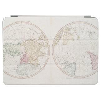 北の南半球の早い地図1790年 iPad AIR カバー