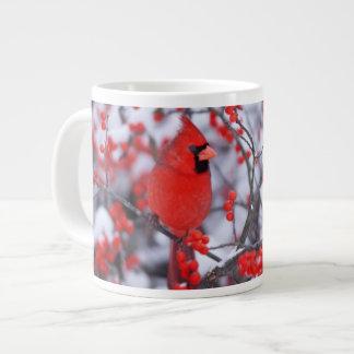 北の基本的な男性、冬、IL ジャンボコーヒーマグカップ