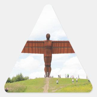北の天使 三角形シール