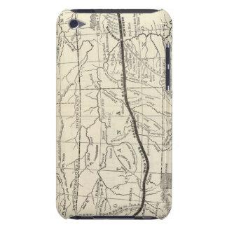 北の太平洋の鉄道の地図 Case-Mate iPod TOUCH ケース