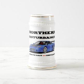 北の妨害ビールステイン ビールジョッキ