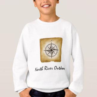 北の川のアウトドア スウェットシャツ