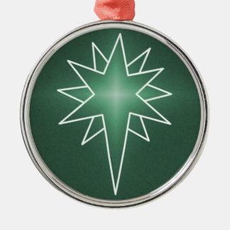 北の星の優れた円形のオーナメント メタルオーナメント