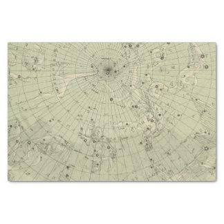 北の極圏の星図 薄葉紙