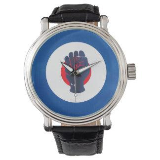 北の精神の握りこぶし及びモダンなターゲット腕時計 腕時計