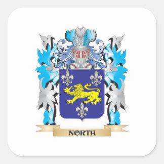 北の紋章付き外衣-家紋 スクエアシール