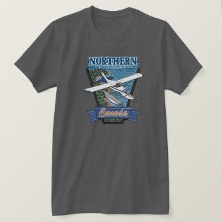北の航空冒険カナダ Tシャツ