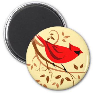 北の赤く基本的な磁石 マグネット