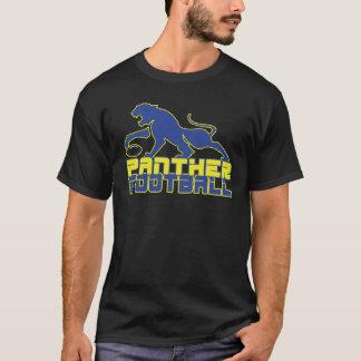 北のLamarのヒョウのフットボールパリテキサス州 Tシャツ