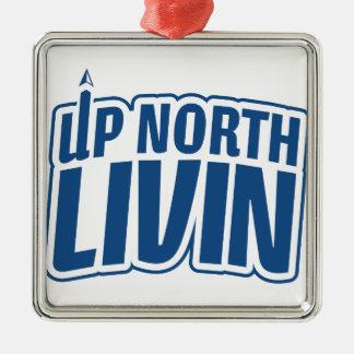北のLivinの上 メタルオーナメント