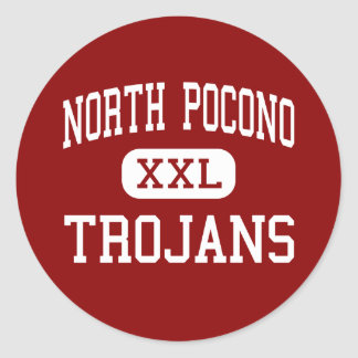 北のPocono -トロイ人-中間-モスクワ ラウンドシール