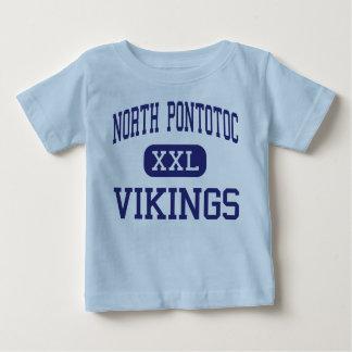 北のPontotoc -バイキング-高ベージュ色ミシシッピー ベビーTシャツ