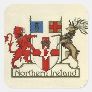北アイルランドのための紋章付き外衣 スクエアシール