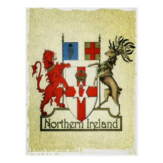 北アイルランドのコートの腕 ポストカード