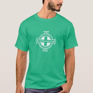 北アイルランドのフットボールの頂上のティー Tシャツ