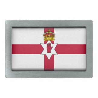 北アイルランド(アルスター)の旗 長方形ベルトバックル