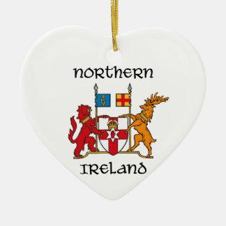北アイルランド-紋章付き外衣か記号または紋章 セラミックオーナメント