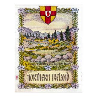 北アイルランドMourne山の郵便はがき ポストカード