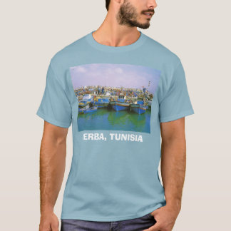 北アフリカ、北アフリカ、Jerba、チュニジア Tシャツ