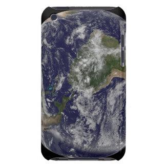 北アメリカおよび南アメル4を示す完全な地球 Case-Mate iPod TOUCH ケース