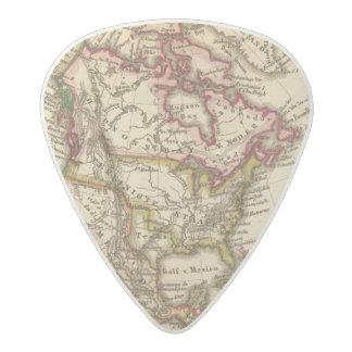 北アメリカの地図2 アセタール ギターピック