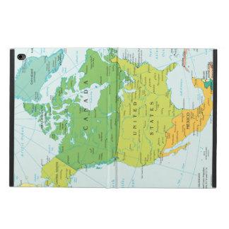 北アメリカの地図 POWIS iPad AIR 2 ケース