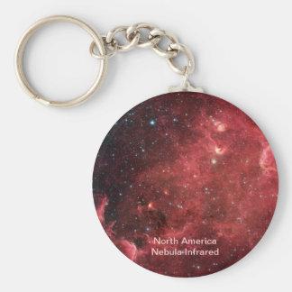 北アメリカの星雲の赤外線 キーホルダー