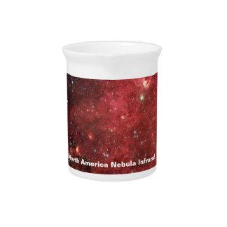 北アメリカの星雲の赤外線 ピッチャー