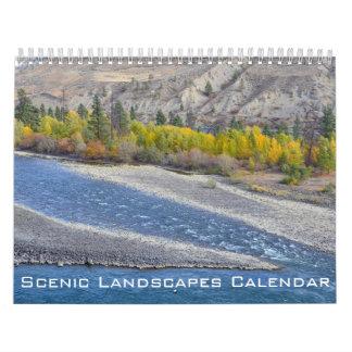 北アメリカの景色の景色 カレンダー