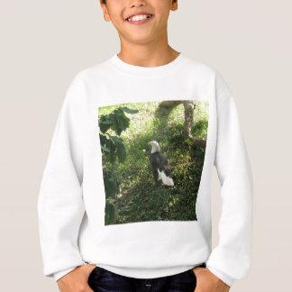 。北アメリカの白頭鷲 スウェットシャツ