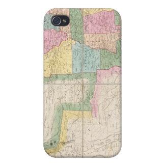 北アメリカの米国の地図 iPhone 4 ケース