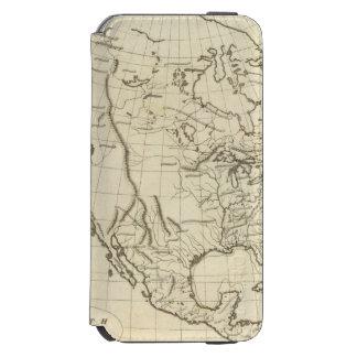 北アメリカの輪郭の地図 INCIPIO WATSON™ iPhone 6 ウォレットケース