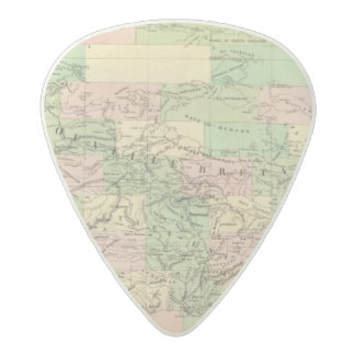 北アメリカアセンブリ地図 アセタール ギターピック