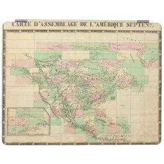 北アメリカアセンブリ地図 iPadスマートカバー