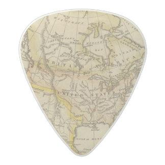 北アメリカ10 アセタール ギターピック