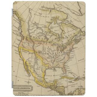 北アメリカ10 2 iPadスマートカバー
