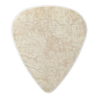 北アメリカ1804年 アセタール ギターピック
