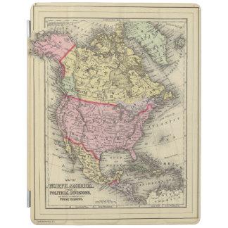 北アメリカ18 iPadスマートカバー