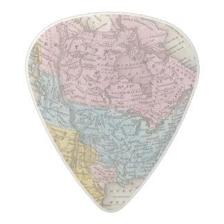 北アメリカ2の地図 アセタール ギターピック