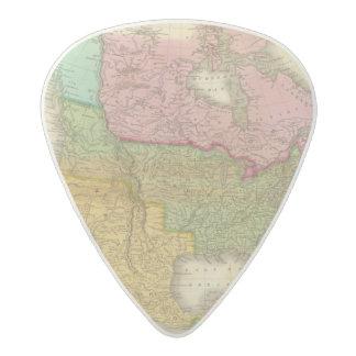 北アメリカ3の地図 アセタール ギターピック
